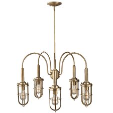 <strong>Feiss</strong> Urban Renewal 5 Light Chandelier