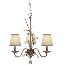 <strong>Feiss</strong> Priscilla 3 Light Chandelier