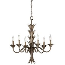 <strong>Feiss</strong> Flora 6 Light Chandelier