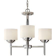 <strong>Feiss</strong> Malibu 3 Light Chandelier