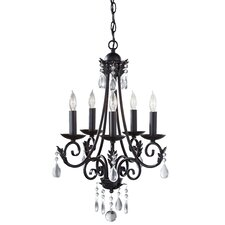 <strong>Feiss</strong> Nadia 5 Light Chandelier