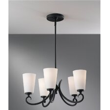<strong>Feiss</strong> Peyton 5 Light Chandelier
