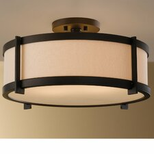 Bronze Flush Mount Ceiling Lights | Wayfair
