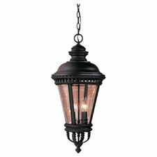Castle 4 Light Outdoor Hanging Lantern