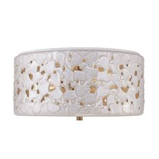 Azalia 3 Light Flush Mount