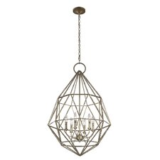 Marquise 6 Light Candle Chandelier
