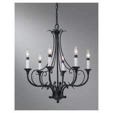 Peyton 6 Light Chandelier