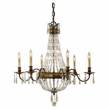 <strong>Feiss</strong> Bellini 6 Light Chandelier