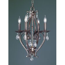 <strong>Feiss</strong> Mademoiselle 4 Light Chandelier