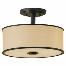 <strong>Feiss</strong> Casual 2 Light Semi Flush Mount