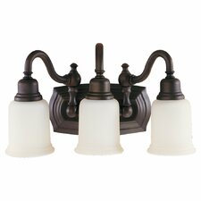 <strong>Feiss</strong> Canterbury 3 Light Bath Vanity Light