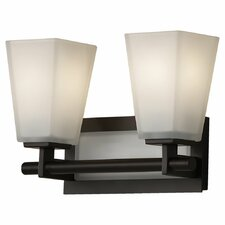 Clayton 2 Light Bath Vanity Light