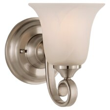 Vista 1 Light Wall Sconce