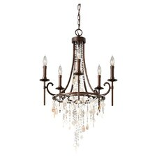 <strong>Feiss</strong> Cascade 5 Light Chandelier