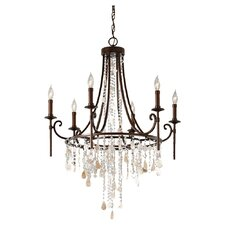 <strong>Feiss</strong> Cascade 6 Light Chandelier