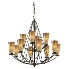 <strong>Feiss</strong> El Nido 12 Light Chandelier