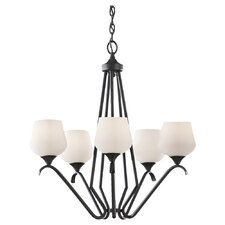 <strong>Feiss</strong> Merritt 5 Light Chandelier