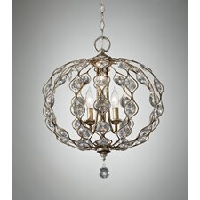 Leila 3 Light Chandelier