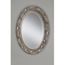 <strong>Feiss</strong> Priscilla Mirror in Arctic Silver