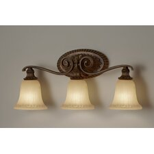 <strong>Feiss</strong> Francine 3 Light Bath Vanity Light