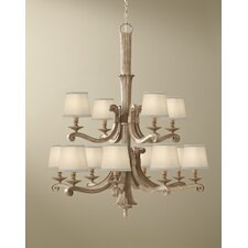 <strong>Feiss</strong> Blaire 12 Light Chandelier