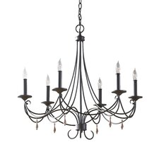 <strong>Feiss</strong> Aliya 6 Light Chandelier