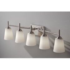 Regan 5 Light Bath Vanity Light