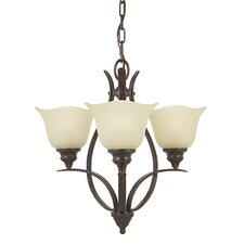 <strong>Feiss</strong> Morningside 3 Light Mini Chandelier