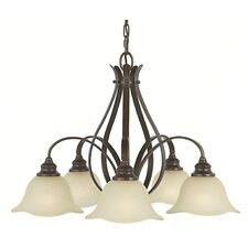 <strong>Feiss</strong> Morningside 5 Light Chandelier