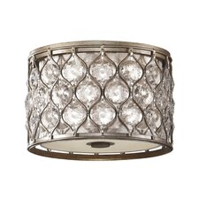 Lucia 2 Light Flush Mount