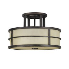 Fusion 1 Light Semi Flush Mount