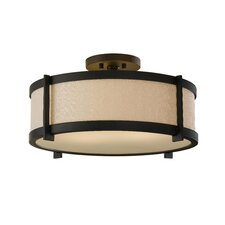 Stelle 2 Light Semi Flush Mount