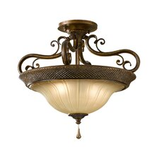 Celine Two Light Semi Flush Mount