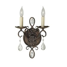 <strong>Feiss</strong> Chateau 2 Light Wall Sconce