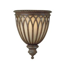 <strong>Feiss</strong> Stirling Castle 1 Light Webbed Half Wall Sconce Lamp