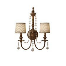<strong>Feiss</strong> Clarissa 2 Light Wall Sconce