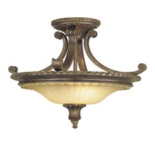 "Stirling Castle 18.75"" Semi Flush Mount"