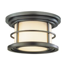 Lighthouse 2 Light Outdoor Flush Mount