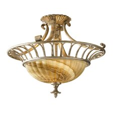 <strong>Feiss</strong> Bancroft 2 Light Semi Flush Mount