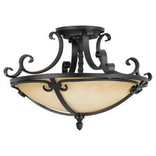 Colonial Manor 2 Light Semi Flush Mount