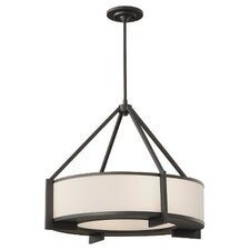 Stelle 4 Light Drum Pendant