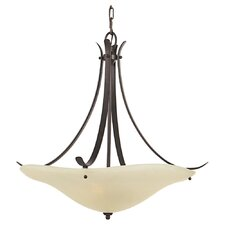 Morningside 3 Light Inverted Pendant