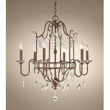 Gianna Scuro 6 Light Chandelier