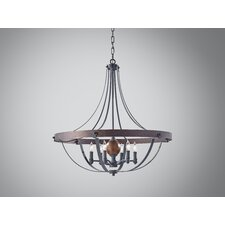 Alston 6 Light Chandelier