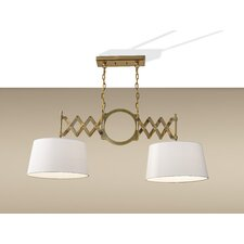 Hugo 2 Light Billiard Pendant