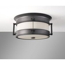 Dockyard 1 Light Outdoor Flush Mount