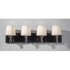 Carrollton 4 Light Bath Vanity Light