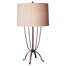 """Shaw 30.44"""" H Table Lamp with Drum Shade"""