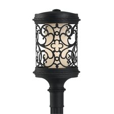 Costa Del Luz 1 Light Outdoor Post Lantern