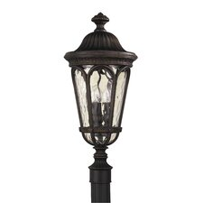 Regent Court 3 Light Outdoor Post Lantern